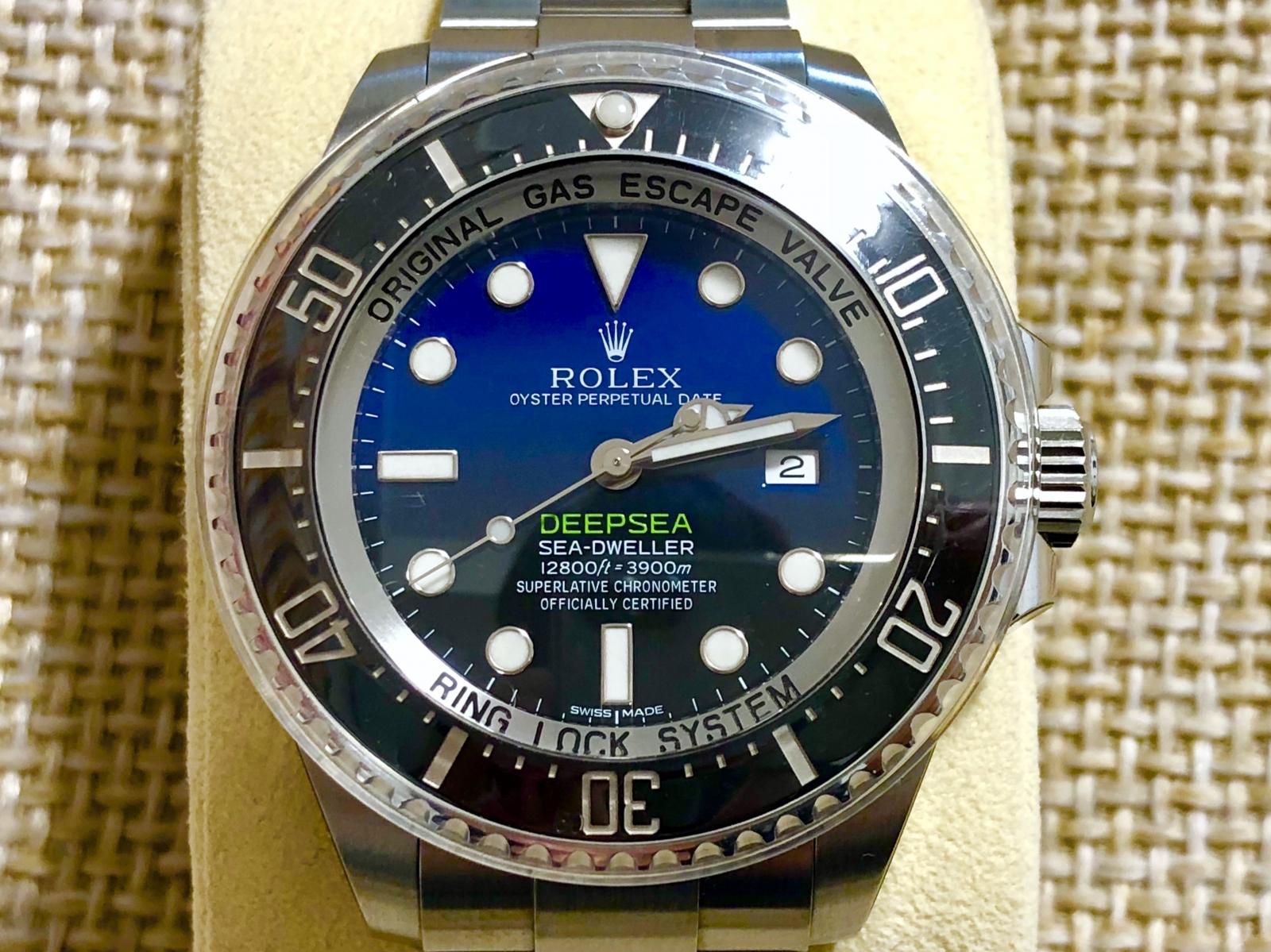 info for 13b3e f3d2e ホーム :: トケマー :: ROLEX / ロレックス :: シール付未使用 dブルー ディープシー シール付き未使用品 116660 d blue  ROLEX シードゥエラー