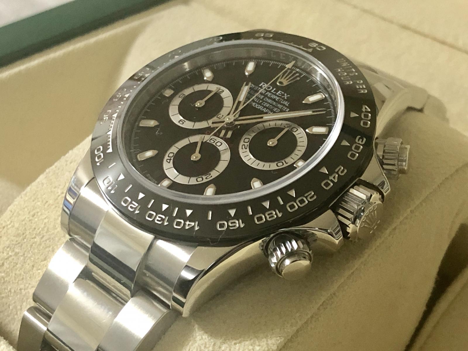 buy popular c9460 bd1fb ホーム :: トケマー :: ROLEX / ロレックス :: 新品未使用 最新モデル ROLEX ロレックス コスモグラフ デイトナ ブラック  116500LN メンズ腕時計 ステンレスS / セラクロム
