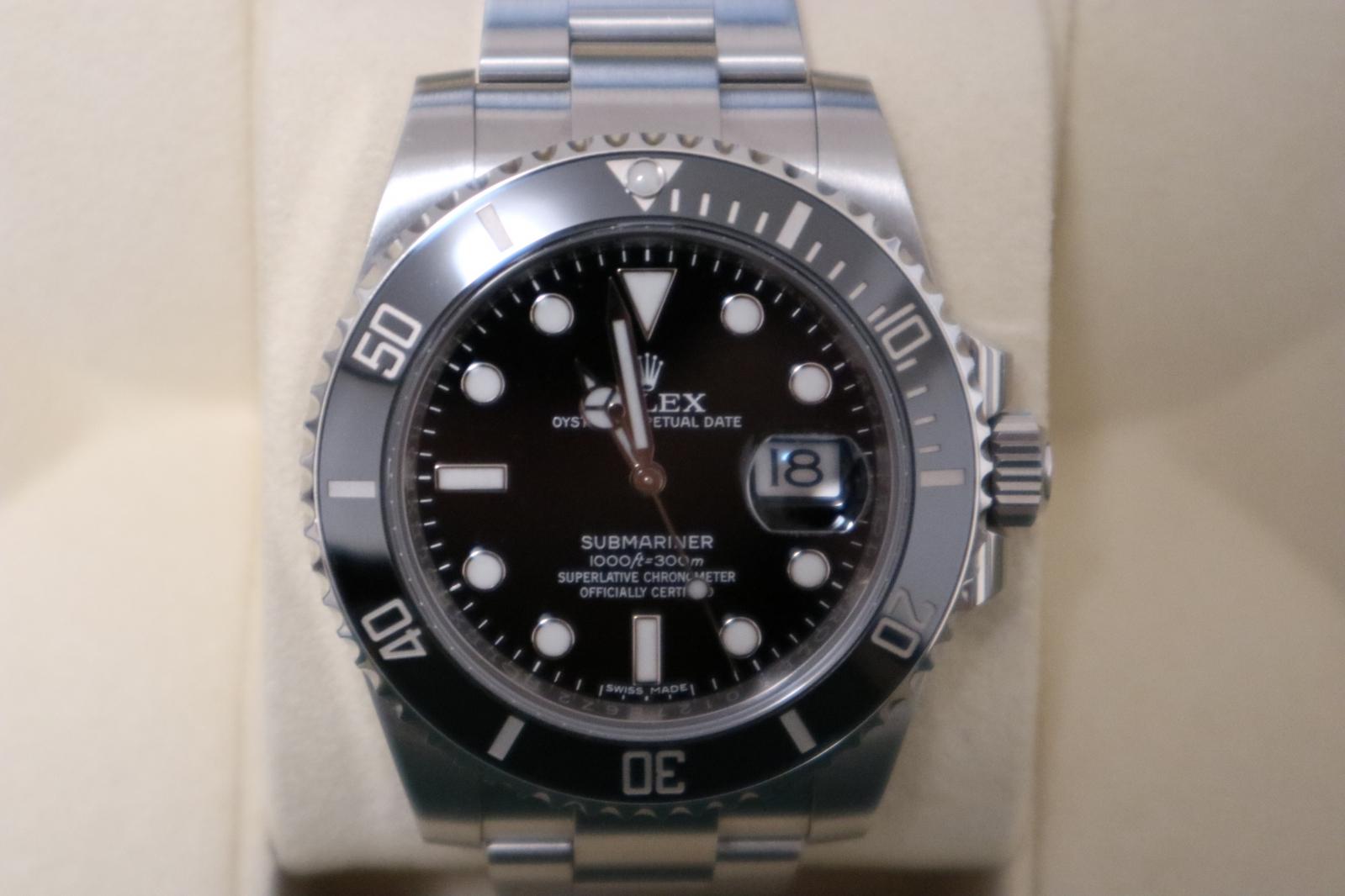 ロレックス サブマリーナデイト 116610LN   国内正規 美品